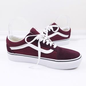 NWOT ∙ vans ∙ old skool platform skate shoes
